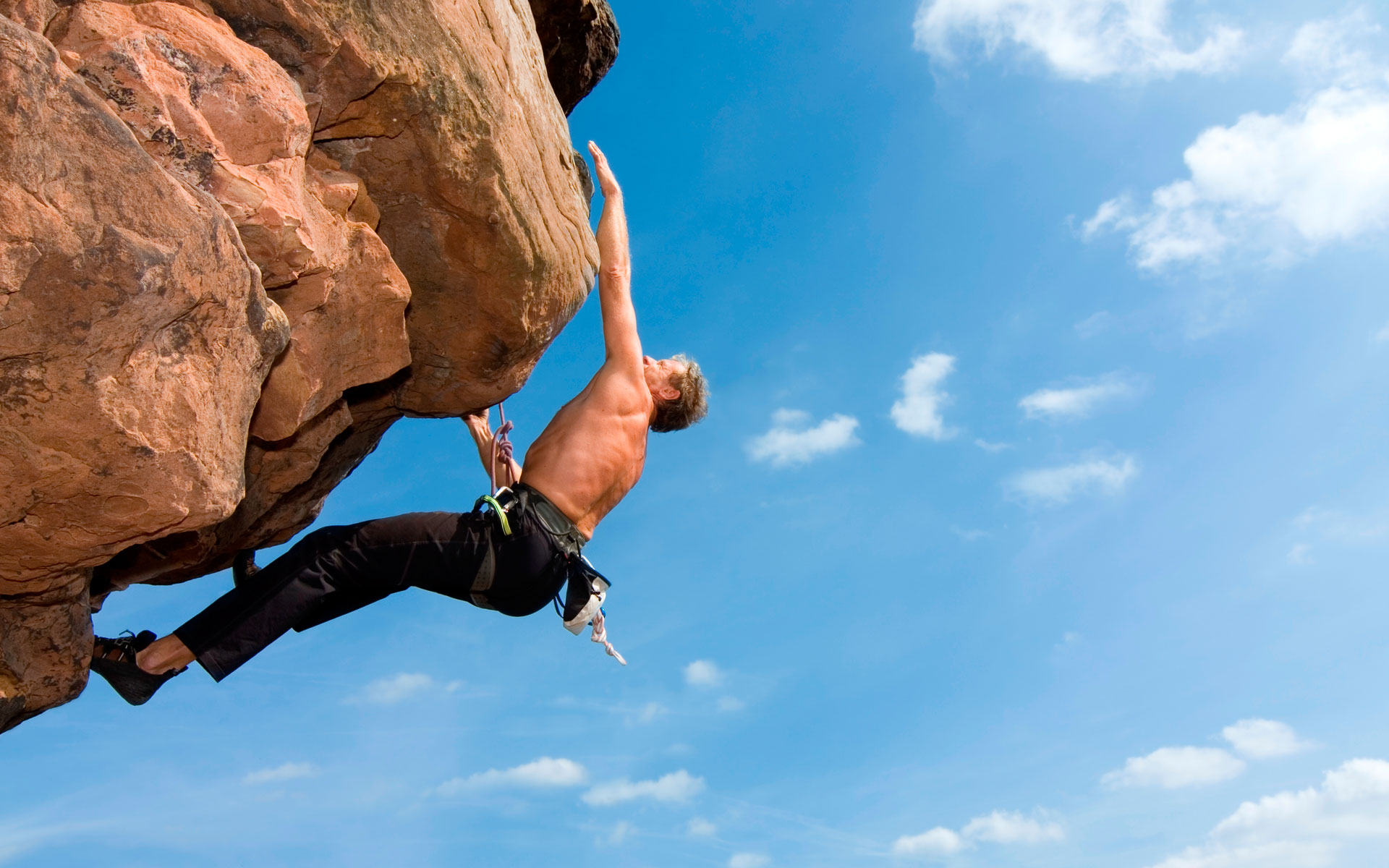 Rock Climbing<br />Is Really Hard